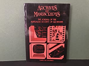 Archives and Manuscripts: The Journal of the Australian Society of Archivists - Volume 27, Novemb...