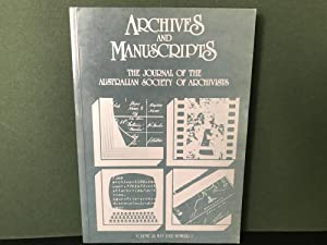 Archives and Manuscripts: The Journal of the Australian Society of Archivists - Volume 28, May 20...