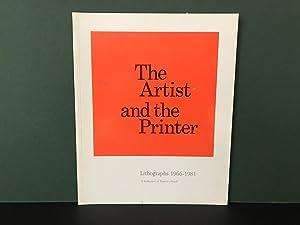 The Artist and the Printer: Lithographs 1966-1981: Dean, Sonia
