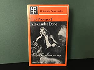 The Poems of Alexander Pope: A One-Volume: Pope, Alexander (Edited
