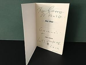 Shy One [Signed]: Green, John