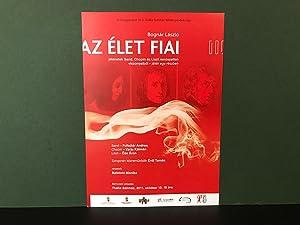 ORIGINAL SINGLE SHEET PROGRAM FLYER for a: Liszt, Franz (Ferenc);