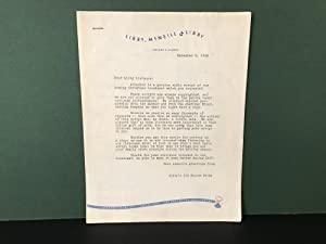 Original 1946 RADIO BROADCAST SCRIPT - Libby, McNeill & Libby - Original Genuine Radio Script: My...