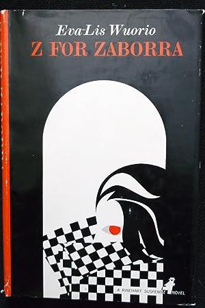 Z for Zaborra: Eva-Lis Wuorio