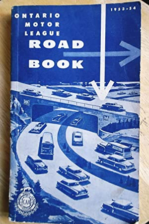 Ontario Motor League Road Book 1953 - 1954