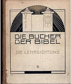 Die Lehrdichtung Die Spruche hiob, Der Prediger: Rahlweis, F (ed.)