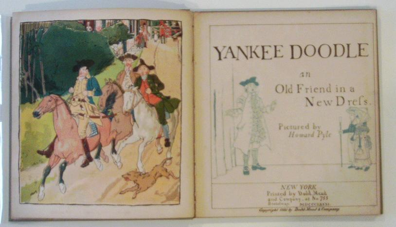 Yankee Doodle: An Old Friend in a New Dress: Pyle, Howard