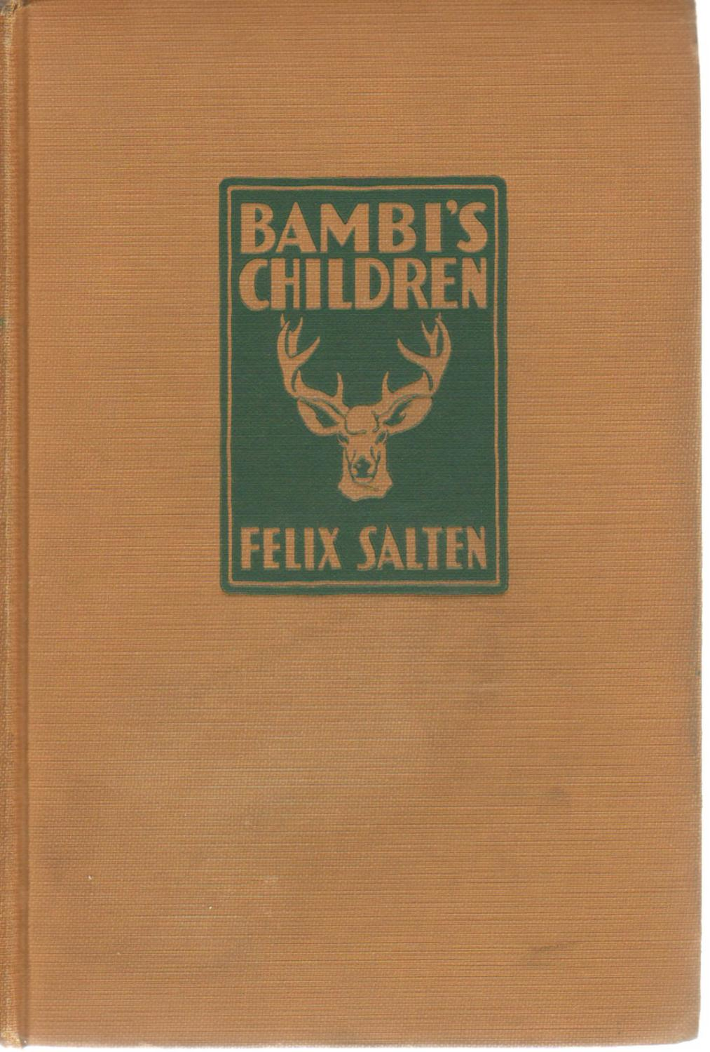 The Story Of A Forest Family: Felix Salten