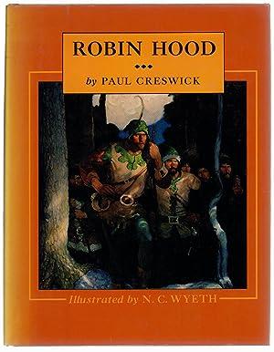 "Robin Hood"" illus N.C. Wyeth: Paul Creswick"