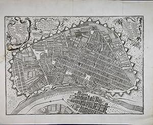 Plano scenographico de la Ciudad de los: Nolasco Mere, Pedro