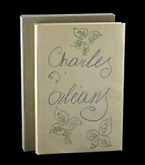 Poèmes de Charles d'Orléans, Manuscrits et Illustres: D'Orleans, Charles and