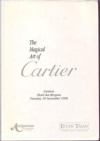 The magical Art of Cartier An important collection of horology, jewelry, and objects of vertu in 8°, cartonato ed., pp. 466 (6). Con sovraccoperta. Con invito all'asta e scheda a parte del gioiello  Magnificent Kashmir Sapphire Bracelet .I libr