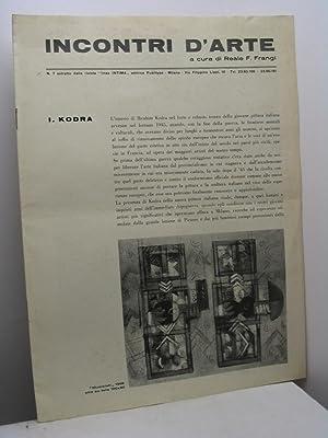 Incontri d'arte, n. 7: AA.VV.