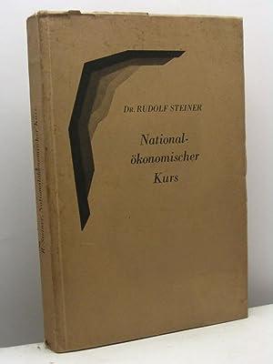 Nationalokonomischer kurs. 14 vortrage von Dr. Rudolf Steiner gehalten am Goetheneanum in Dornach ...
