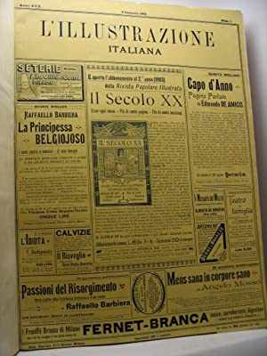 L'Illustrazione italiana, anno XXX, nn. 1-26, gennaio-giugno 1903: AA.VV.