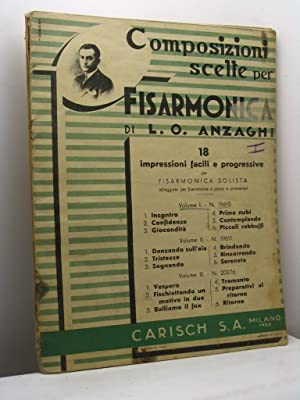 Composizioni scelte per fisarmonica: Anzaghi L.O.