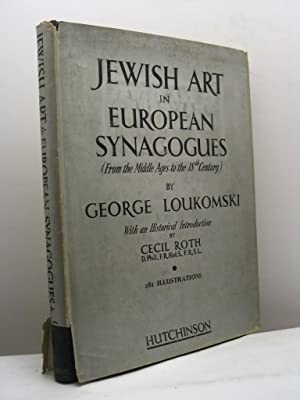 Jewish art in european synagogues (from the Middle ages to the eighteenth century)