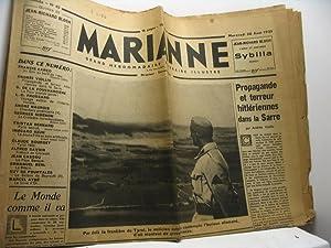 Marianne. Grand hebdomadaire littéraire illustré, 1re année, n. 45, 30 aout ...