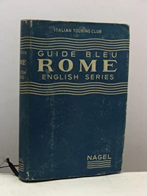 Rome and its environs. Les guides bleus
