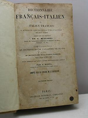 Dictionnaire français-italien et italien-français a l'usage des maisons d'&...