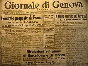 Giornale di Genova. Caffaro, luglio-dicembre 1938: AA.VV.