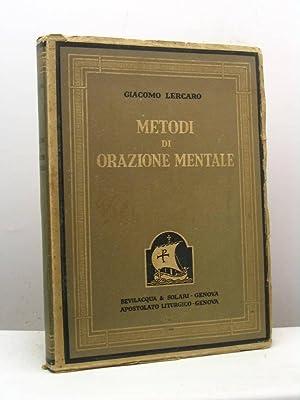 Metodi di orazione mentale: Lercaro Giacomo