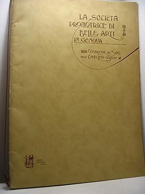 La Società Promotrice di Belle Arti in Genova. Compenso ai Soci dell'Esercizio 1904