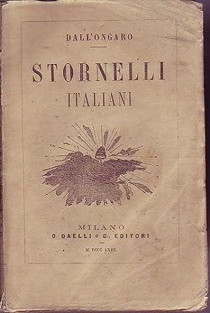 Stornelli italiani: Dall'Ongaro Francesco
