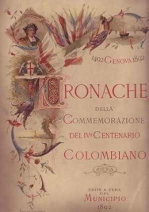 Cronache della commemorazione del IV centenario colombiano