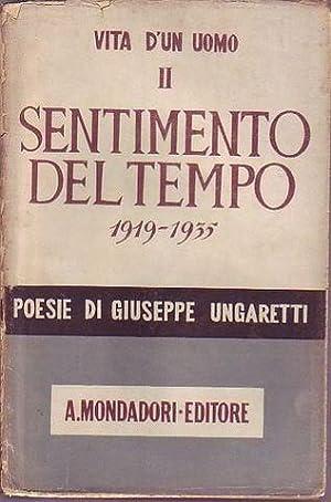 Sentimento del tempo (1919-1935): Ungaretti Giuseppe