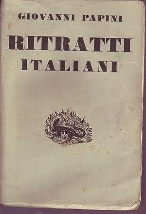 Ritratti italiani (1904-1931): Papini Giovanni