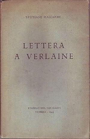 Lettera a Verlaine: Mallarmé Stephane