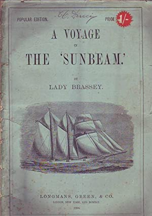 A voyage in the Sunbeam by Lady Brassey popular edition