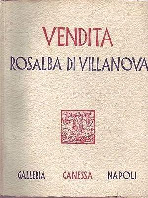 Catalogo di quadri antichi e moderni. Vendita Rosalba di Villanova Eredi del Grande Maestro ...