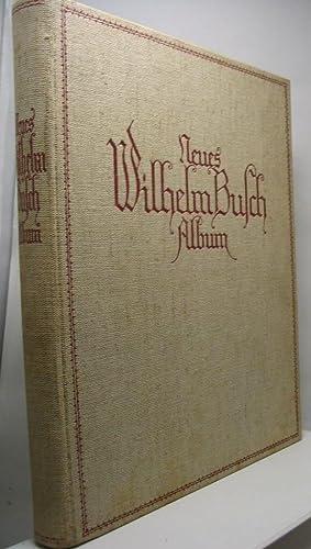Neues Wilhelm Busch Album Sammlung Lustiger Bildergeschichten mit 1500 zum Teil farbigen Bildern: ...