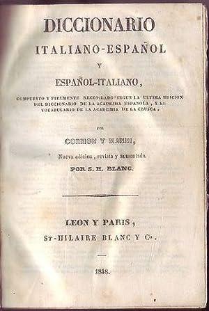 Diccionario Italiano-Espanol y espanol italiano: Cormon y Manni - Blanc S.H.