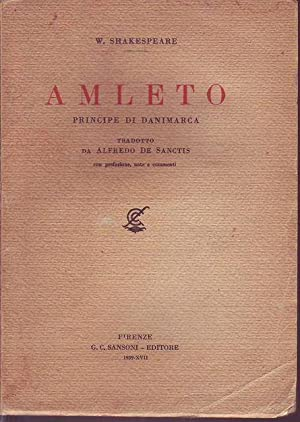 Amleto principe di Danimarca: Shakespeare William
