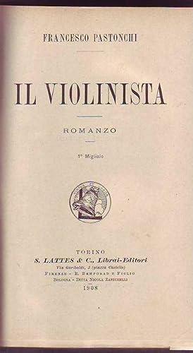 Il violinista: Pastonchi Francesco