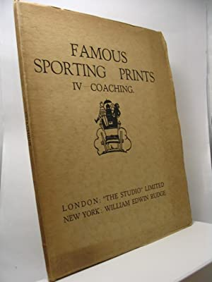 Famous sporting prints IV - Coaching