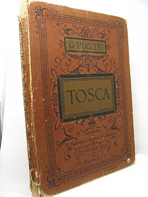 Tosca melodramma in tre atti di V. Sardou - L. Illica - G. Giacosa musica di G. Puccini. Prima ...