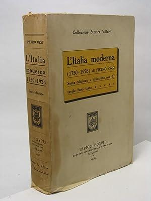 L'Italia moderna (1750-1928) di Pietro Orsi: Orsi Pietro