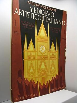 Medioevo artistico italiano - Natale e capodanno de L'Illustrazione Italiana 1927-1928: ...