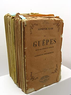 Le Guepes revue philosophique et litteraire des evenements contemporains, anno XIX