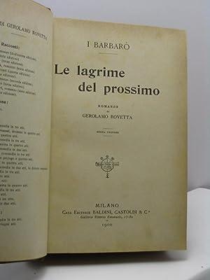 Le lagrime del prossimo: Rovetta Gerolamo