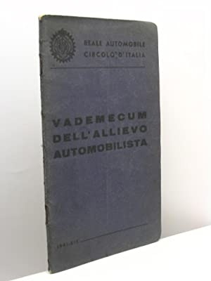 Vademecum dell'allievo automobilismo