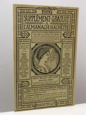 Supplement gratuit a l'Almanach Hachette 1916