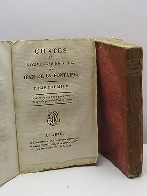 Contes et nouvelles en vers, par Jean De La Fontaine - tome I et II: De La Fontaine Jean