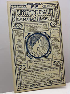 Supplement gratuit a l'Almanach Hachette 1912