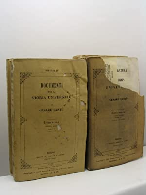 Letteratura - Storia universale di Cesare Cantù: Cantù Cesare