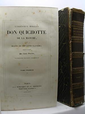 L'ingénieux hidalgo Don Quichotte de la Manche par Miguel De Cervantès Saavedra:...
